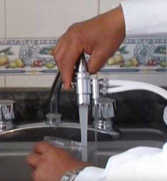 purificador de agua - agua potable