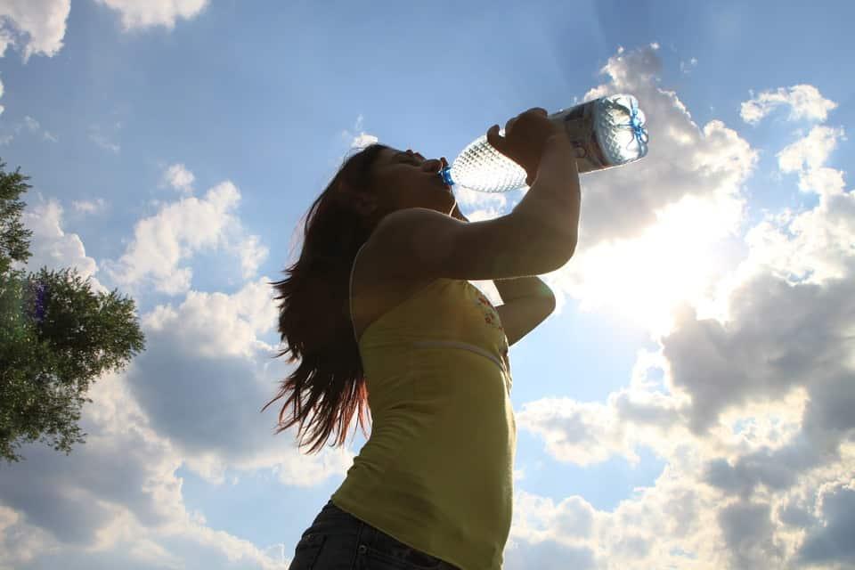 salud con agua