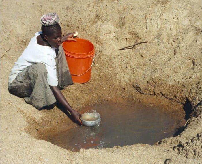 escasez de agua a nivel mundial
