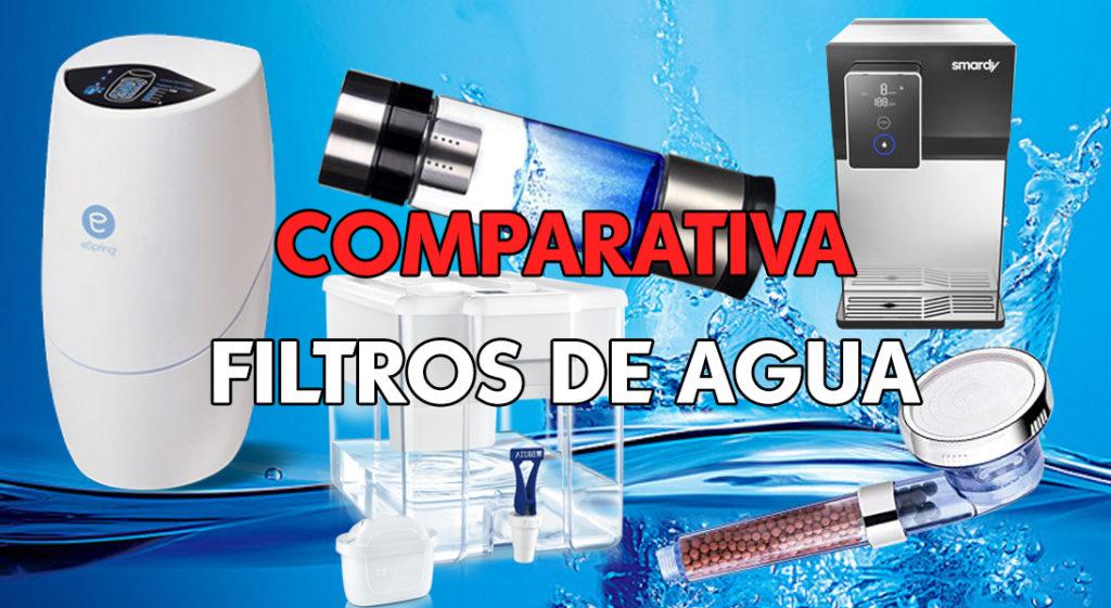comparativa filtros de agua