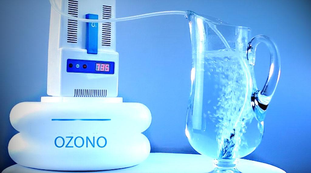 purificador de agua de ozono