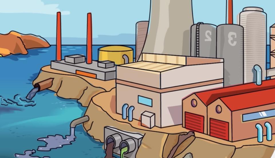 causas de la existencia de metales pesados en el agua