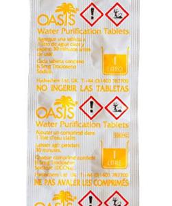 tabletas potabilizadoras de agua